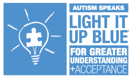 Light it Up Blue for World Autism Awareness Month!